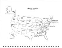 United States Map, Todd County 1993