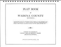 Title Page, Wadena County 1934