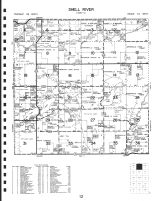 Code 12 - Shell River Township, Twin Lakes, River Lakes Beachers, Jim Cook, Wadena County 1990