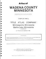 Title Page, Wadena County 1990