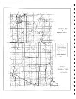 Wadena County Highway Map, Wadena County 1990
