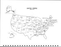 United States Map, Wadena County 2001