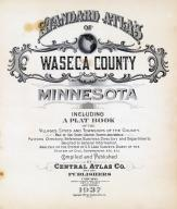 Title Page, Waseca County 1937