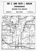 Janesville Township, Smiths Mill, Waseca County 1962