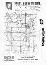Waseca County Map, Waseca County 1962