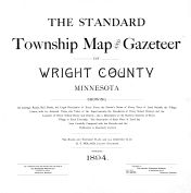 Title Page, Wright County 1894