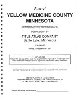 Title Page, Yellow Medicine County 2001