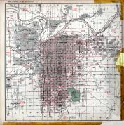 Index Map, Kansas City 1925