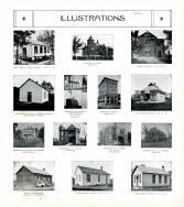 Scott School House, McLeod, Todd, Hutcherson, White, Bross, Dearing, Schaller, Bates, Oakwood, Marion County 1913