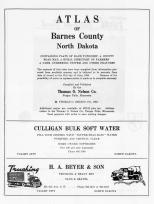 Title Page, Barnes County 1963