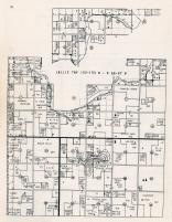Lallie Township, Benson County 1957