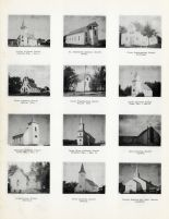 Holden Lutheran, St. Genevieve, First Presbyterian, Salem, Immanuel, Mouse River, Zion Church