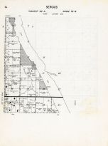 Code EW - Sergius Township, Bottineau County 1959
