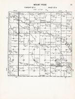 Code SE - Mount Rose Township, Bottineau County 1959