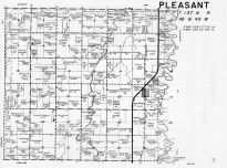 Code VR and PL - Pleasant Township, Hickson, Cass County 1957