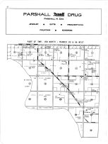 Township 153 North - Ranges 93, 94 West, Mississippi River, Mountrail County 1958
