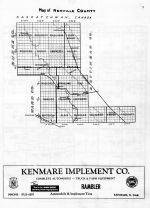 Renville County Map, Renville County 1959