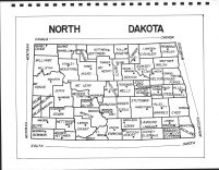 North Dakota State Map, Sargent County 1973