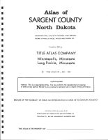 Title Page, Sargent County 1981