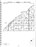 Code 4 - Phillips Township - North, Monroe Township - North, South Platte Township - West, Hamilton County 1985
