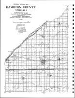 Hamilton County Highway Map, Hamilton County 1996