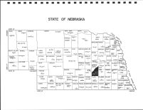 Nebraska State Map, Hamilton County 1996