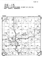 Township 26 North - Range 15 West, Holt County 1948