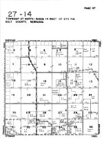 Township 27 North - Range 14 West, Holt County 1948