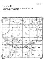 Township 27 North - Range 16 West, Holt County 1948