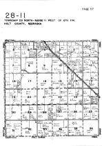 Township 28 North - Range 11 West, Holt County 1948
