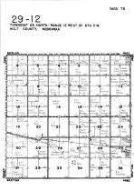 Township 29 North - Range 12 West, O'Neill - West, Holt County 1948
