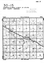 Township 30 North - Range 15 West, Holt County 1948
