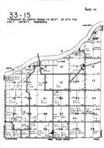 Township 33 North - Range 15 West, Holt County 1948