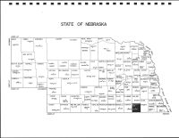 Nebraska State Map, Jefferson County 1997