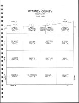 Kearney County Code Map, Kearney County 1994