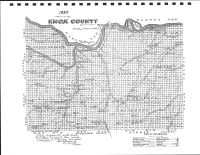 Knox County 1885 Map, Knox County 1903