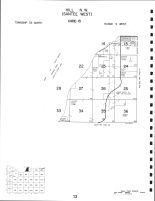 Code 13 - Hill Township - NW, Santee Township - West, Santee, Knox County 1995