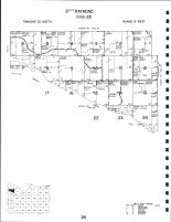 Code 25 - Raymond Township - Southwest, Knox County 1995