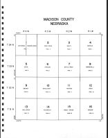 Index Code Map, Madison County 1991