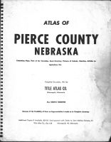 Title Page, Pierce County 1961