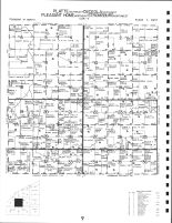 Code 9 - Platte Township - SE, Osceola Township - SW, Pleasant Home Township - NE, Stromsburg Township - NW, Polk County 1986
