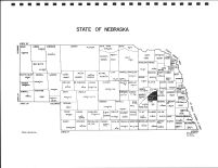 Nebraska State Map, Polk County 1986