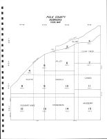 Polk County Code Map, Polk County 1986