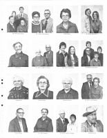 F. Bruning, V. Bruning, V. Bruning, E. Bulin, H. Buntz, J. Burbach, T. Busing, W. Busing, A. Butts, L. Callison, F. Cameron, Thayer County 1976