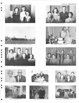 H. Saylor Family, C. Steyer Family, J. Headrick, A. Dudgeon Family, B. Headrick, C. Powell, Dudgeon Children, Thayer County 1976