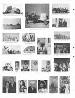 Hay Making, R. Deterding, Jacobitz children, C. Apley_s mule hitch, E. Burbach, S. Wiedel home, E. Kenning, J. Wiedel, Thayer County 1976