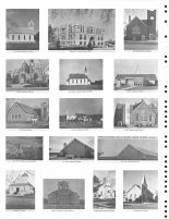 St. Pauls, Lutheran, Thayer Co Court House, Grace Lutheran, St. Peter Lutheran, Faith Lutheran, Trinity Lutheran, Thayer County 1976
