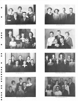 W. Marquart Family, B. Dittmer family, A. Tietjen family, T. Tietjen Family, J. Dittmer Famiy, W. Poppe Family, R. Wenske family, Thayer County 1976