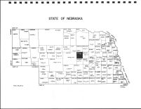 Nebraska State Map, Valley County 1985