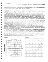 Land Description 1, Valley County 1995